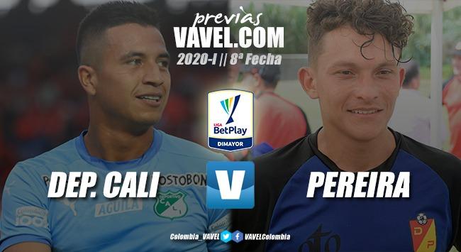 Previa Deportivo Cali vs. Deportivo Pereira: El 'azucarero' expone su invicto ante el 'matecaña'