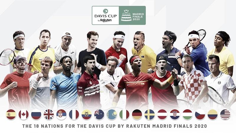 Definidos los 18 países que disputarán la Copa Davis