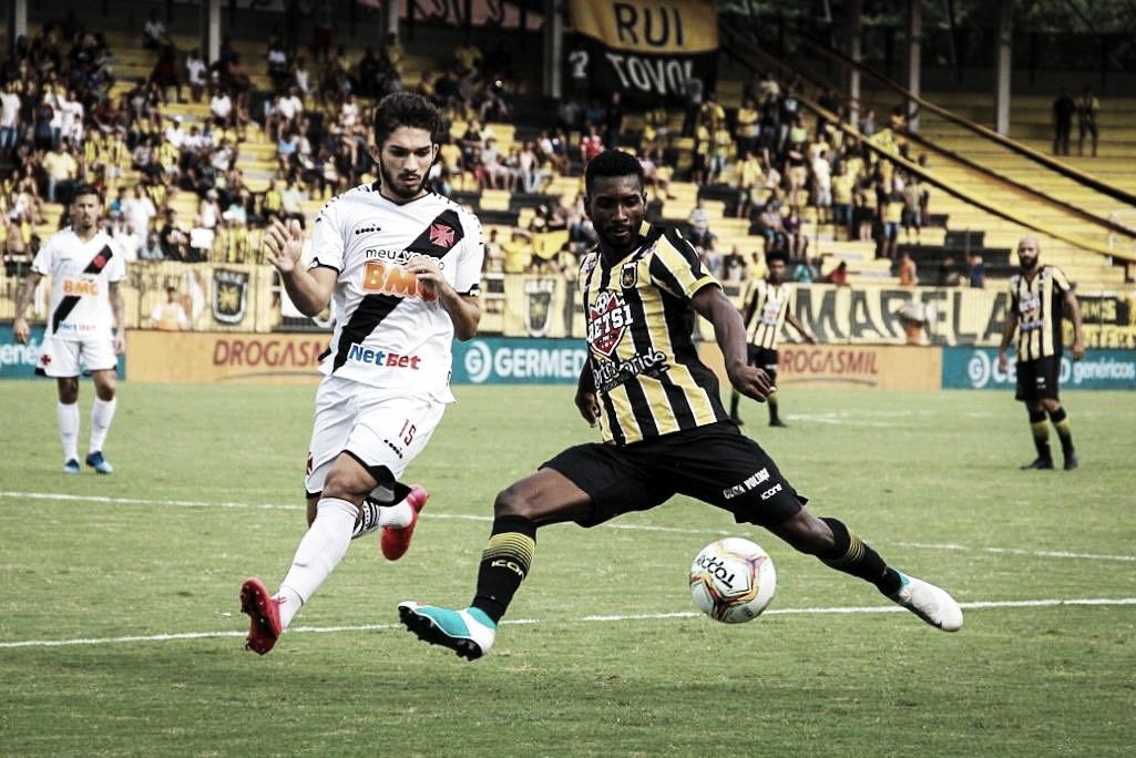 Vasco empata contra Volta Redonda e segue sem vencer na Taça Rio