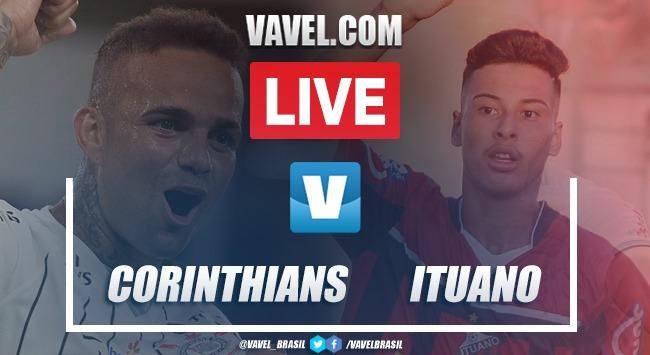 Gols e melhores momentos para Corinthians 1x1 Ituano pelo Campeonato Paulista 2020