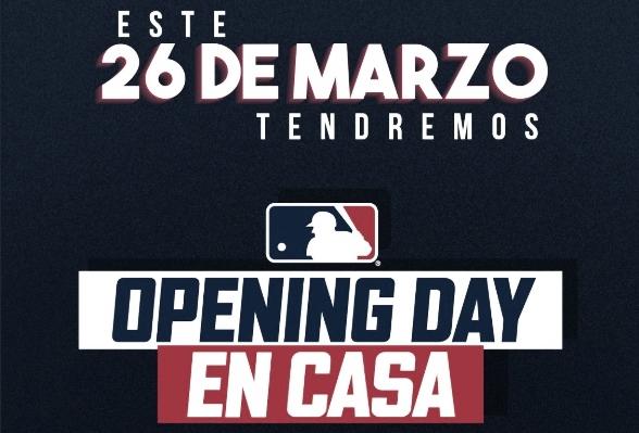La MLB anuncia el Opening Day en casa