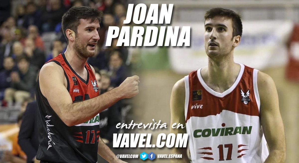 """Entrevista. Joan Pardina: """"Prefiero ser importante en LEB Oro antes que rellenar un equipo en ACB"""""""