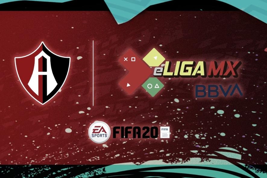 Atlas anuncia a sus jugadores para la eLiga MX