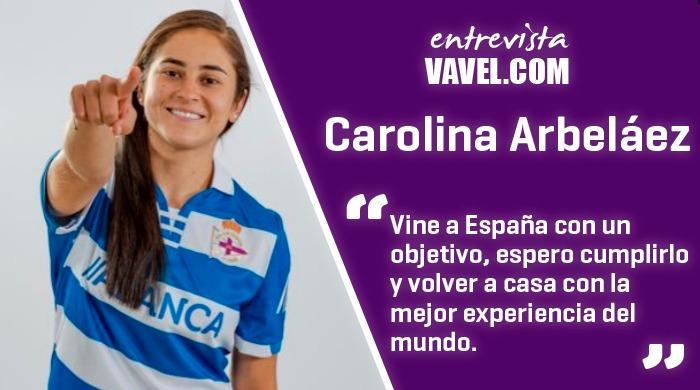 """Entrevista Carolina Arbelaéz: """"Gracias al trabajo y la disciplina he logrado muchas cosas"""""""