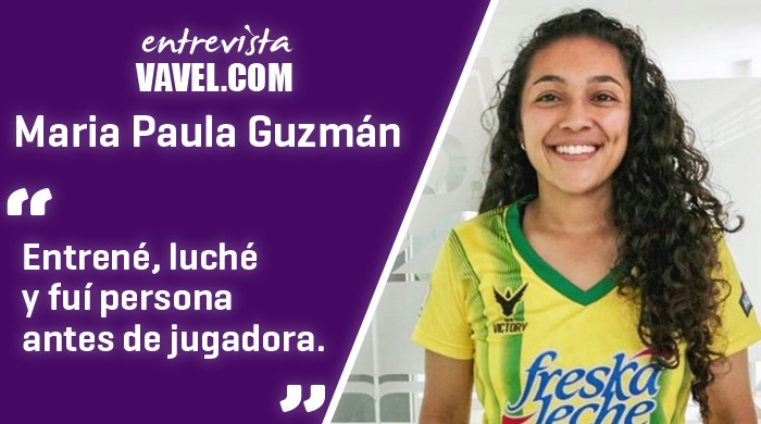 """Entrevista María Paula Guzmán: """"La disciplina tarde que temprano vencerá el talento"""""""