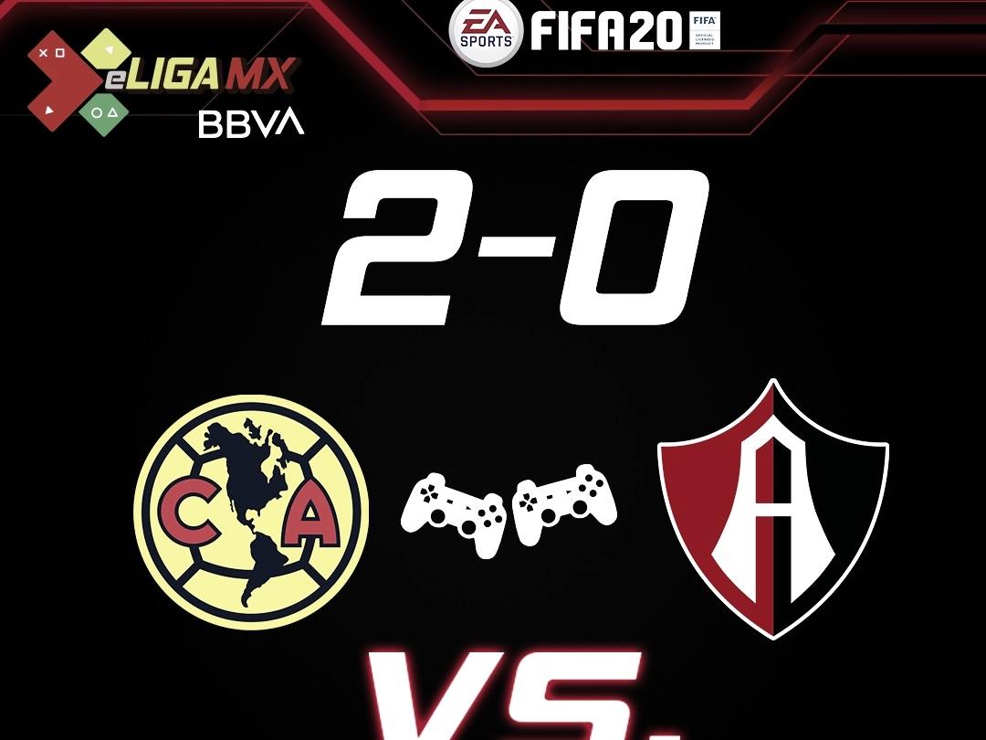 Atlas suma su segunda derrota en e Liga MX al caer ante América