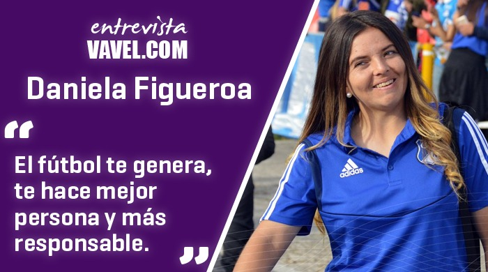 "Entrevista a Daniela Figueroa: ""Mi vida siempre ha girado en torno al fútbol"""
