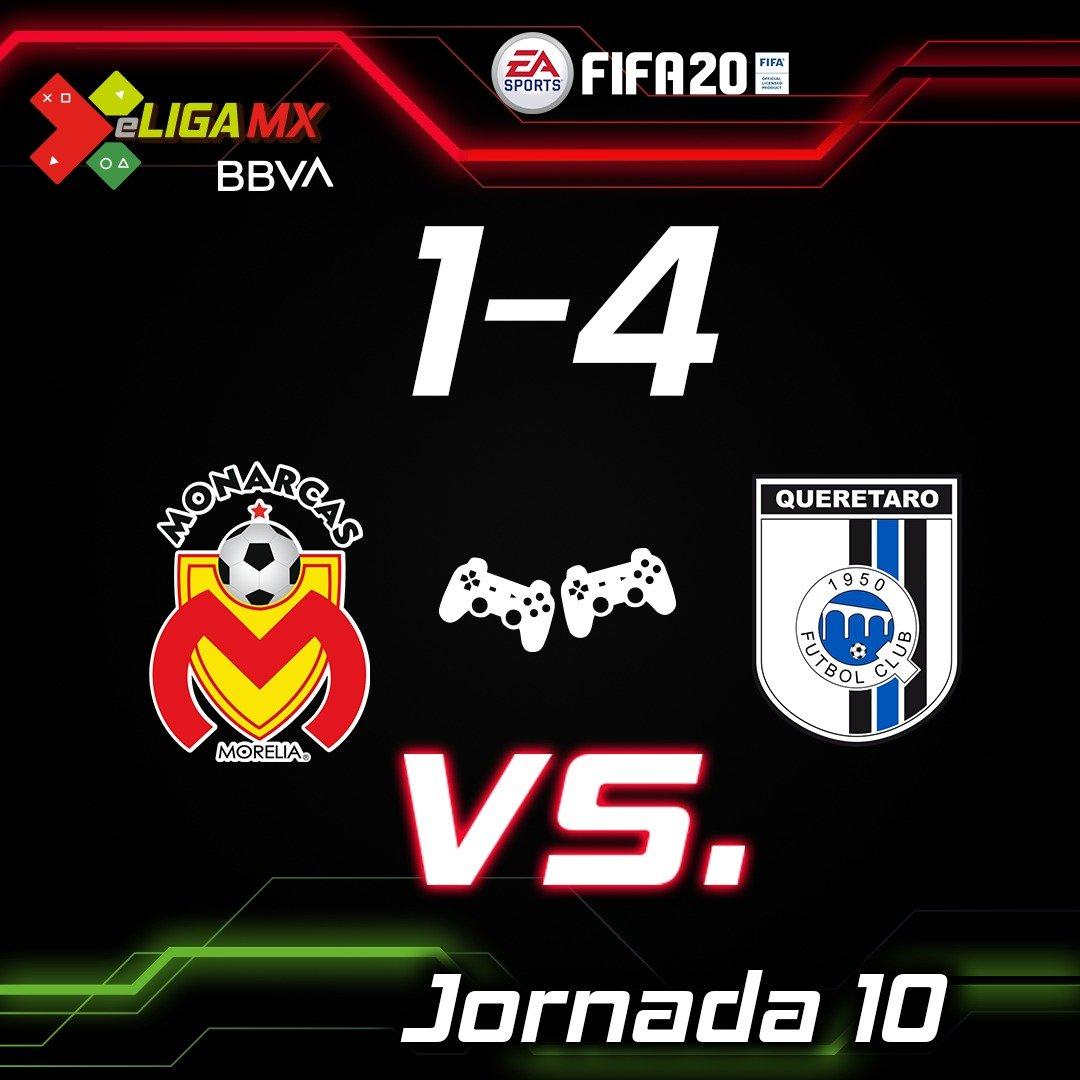 Gallos golean a Monarcas en la eLiga MX