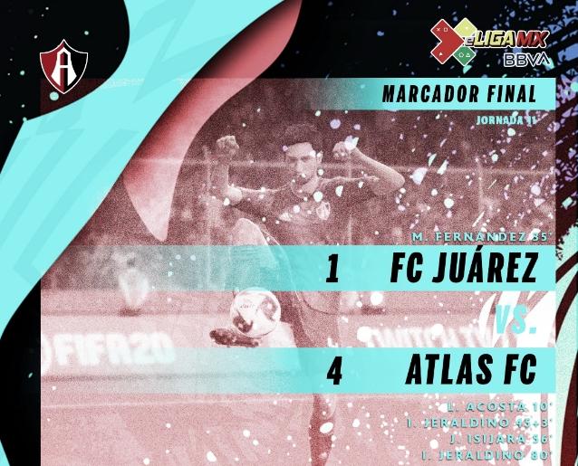 Atlas regresa a la victoria en eLiga MX con Brayton Vázquez