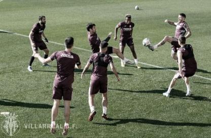 Continúanlos entrenamientos por grupos en Villarreal