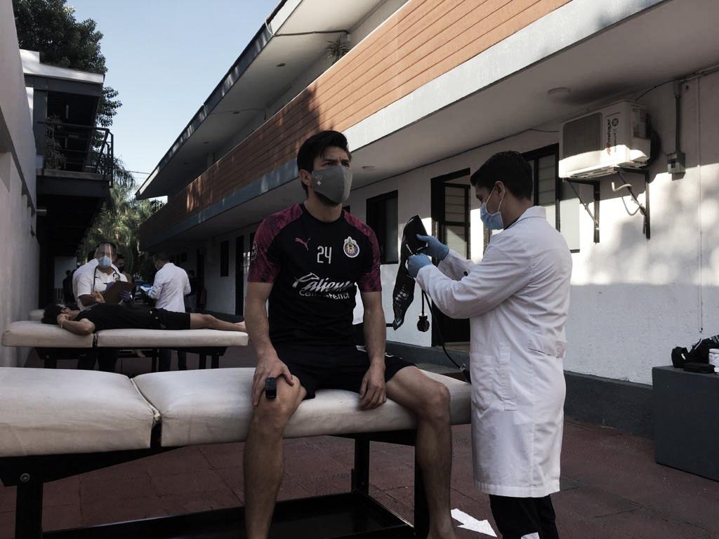 En primera entrega de pruebas, Chivas no presenta jugadores con COVID-19