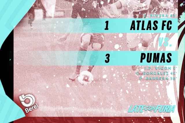 Pumas derrota a Atlas en la Jornada 13 de la e Liga MX