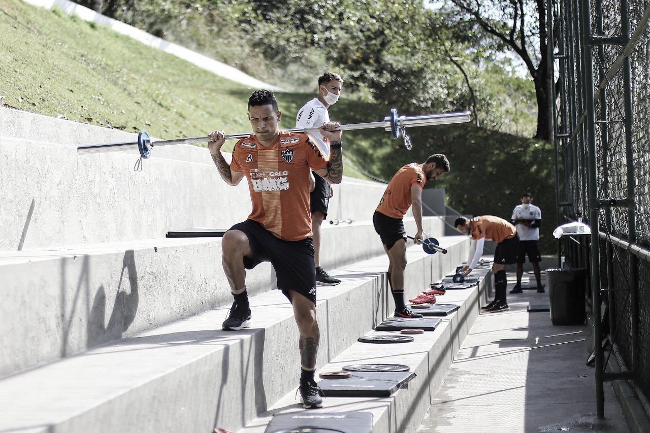 Guilherme Arana destaca importância dos protocolos de segurança nos treinos durante pandemia