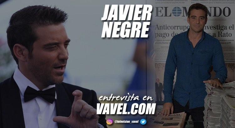 """Entrevista. Javier Negre: """"Mi vocación por el periodismo fue tardía pero ahora mismo es mi pasión"""""""