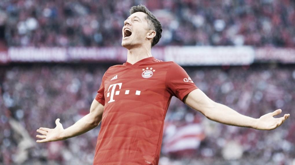 Os melhores 18 gols de Robert Lewandowski contra 18 clubes da Bundesliga