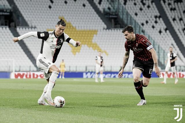 Cristiano Ronaldo perde pênalti, mas Juventus avança à final da Copa da Itália após empate com Milan