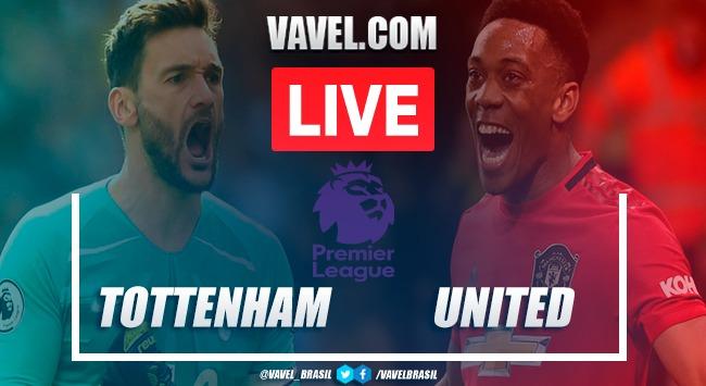 Resultado e gols para Tottenham 1x1 Manchester United pela Premier League 2019-2020