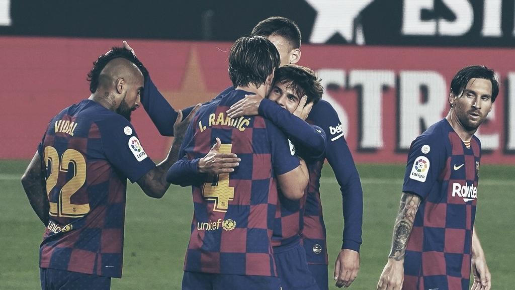 Barcelona sofre, mas derrota Athletic Bilbao e retoma liderança provisória de LaLiga