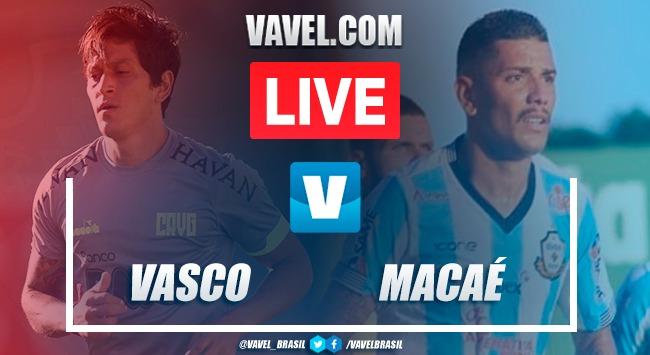 Gols e melhores momentos Vasco x Macaé pelo Campeonato Carioca 2020 (3-1)