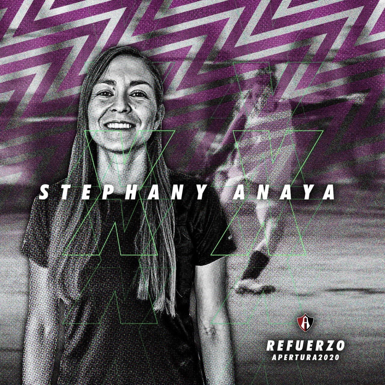 Stephany Ayala, primer refuerzo de Atlas Femenil