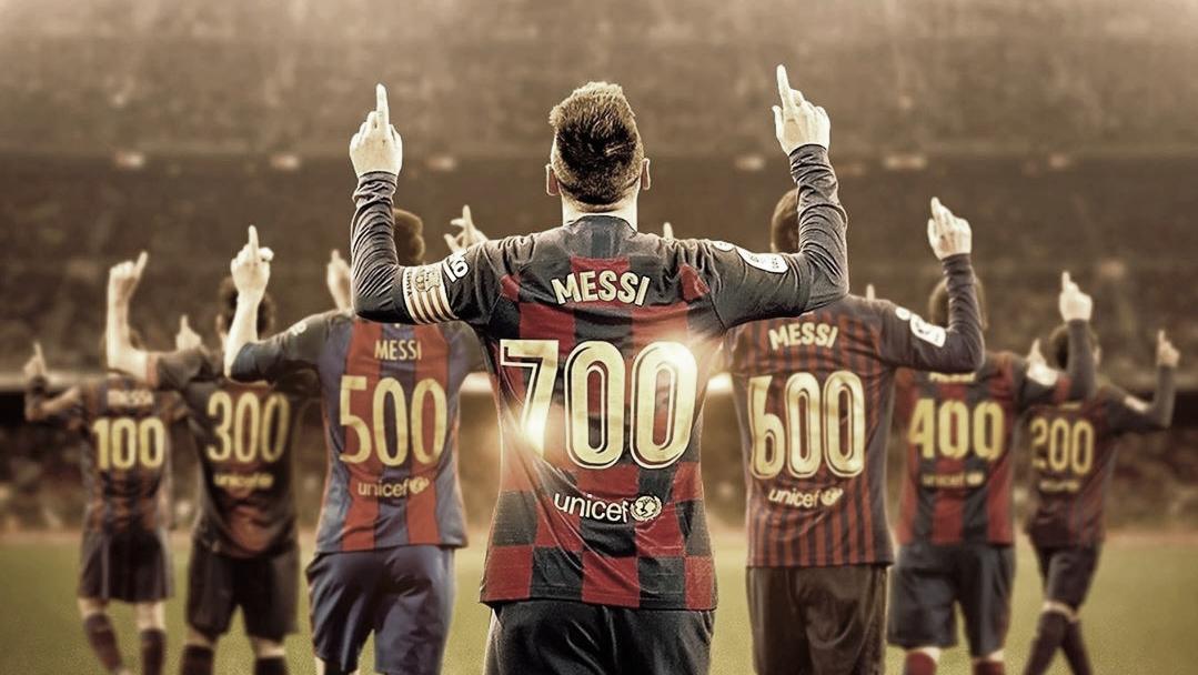 700 vezes Lionel Messi: confira a divisão dos gols do argentino na carreira