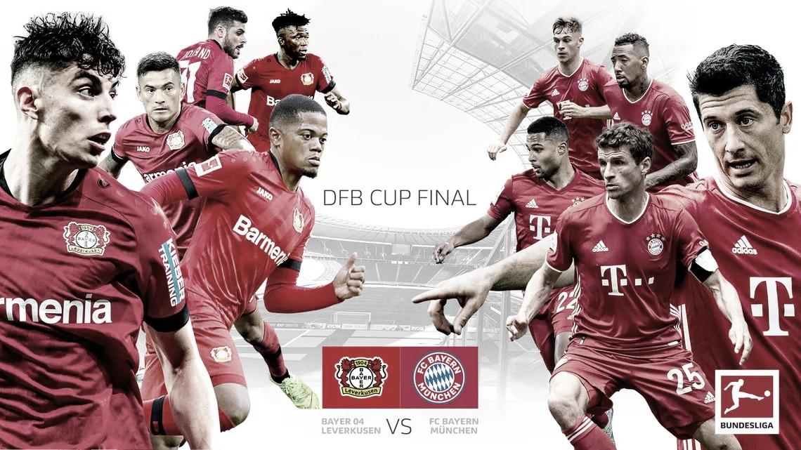 Vale título! Bayer Leverkusen e Bayern de Munique fazem final da Copa da Alemanha 2020