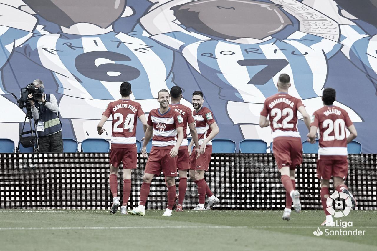 Granada consegue importante vitória contra Real Sociedad em confronto direto pela Europa League