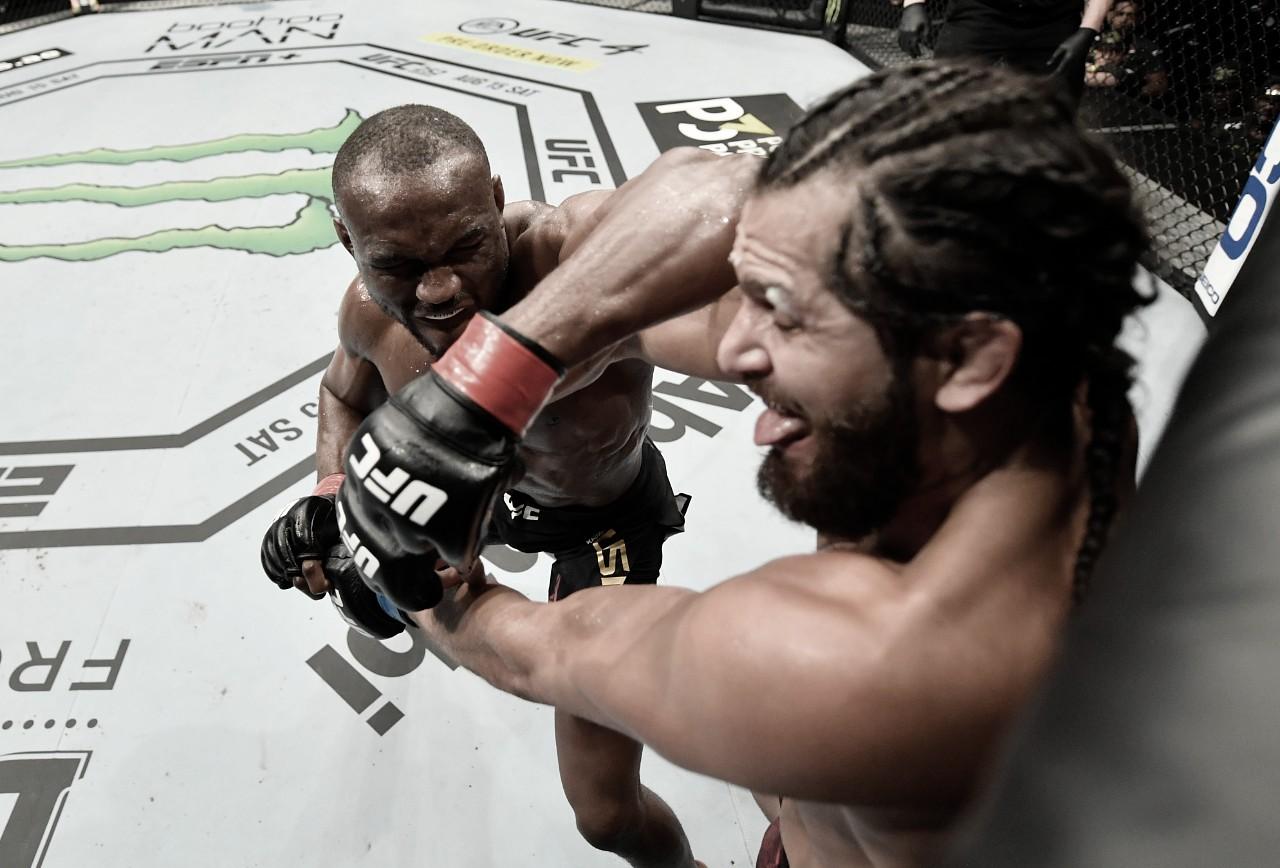 UFC 251: Kamaru Usman derrota Jorge Masvidal na Ilha da Luta e mantém cinturão do peso-médio