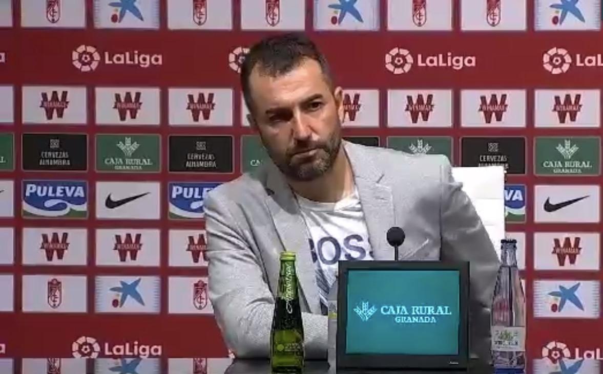 """Diego Martínez:""""Le doy matrícula de honor al equipo por lo que nos están haciendo disfrutar"""""""