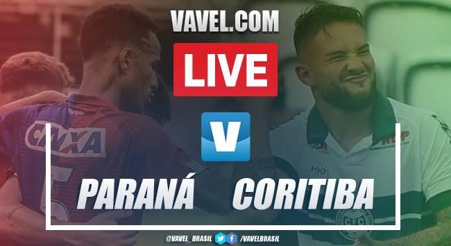 Resultado Paraná 0 x 1 Coritiba pelo Campeonato Paranaense 2020