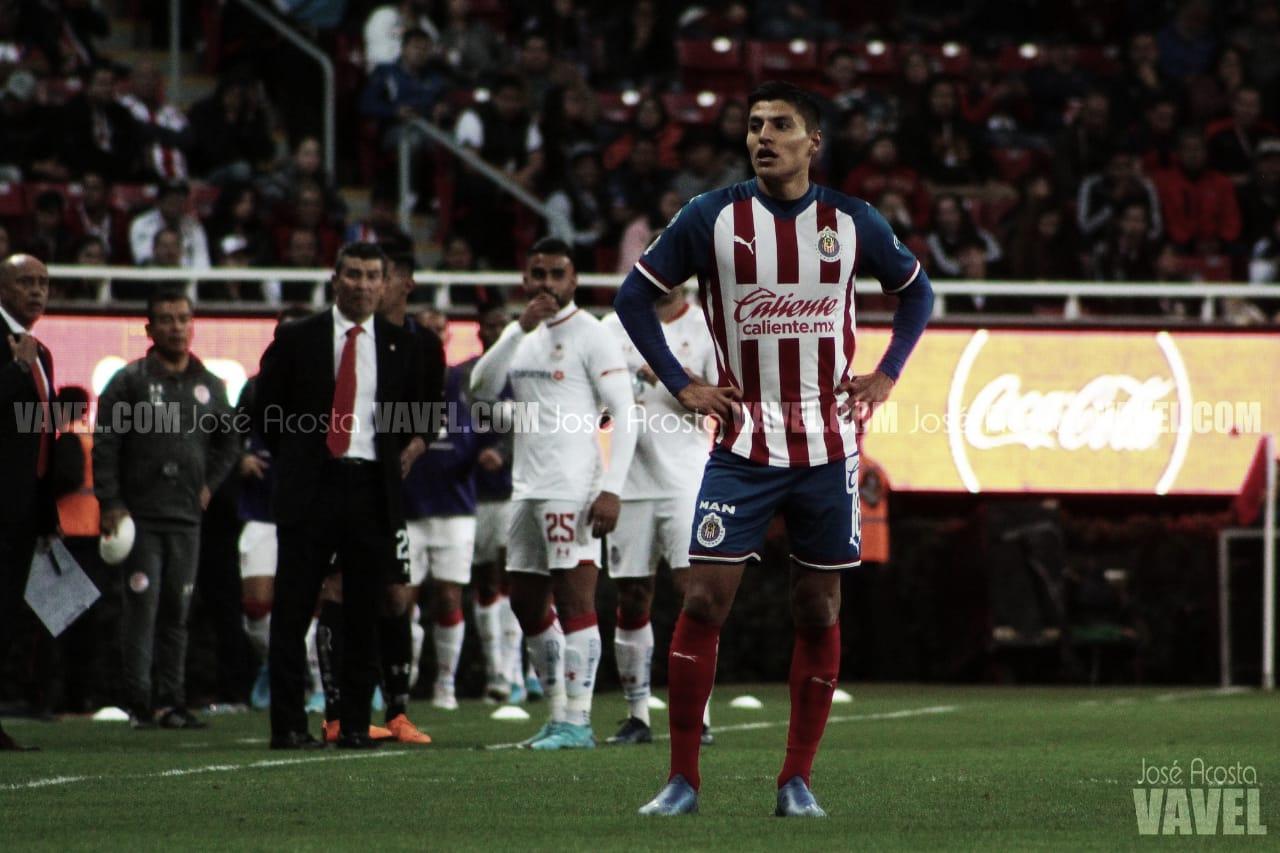Ronaldo Cisneros, uno de los tres contagiados por COVID-19 en Chivas