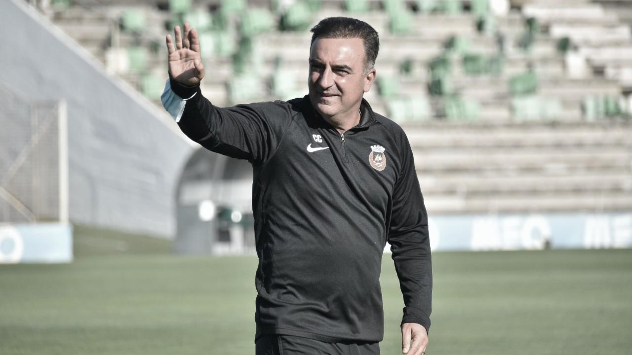 Pretendido pelo Flamengo, Carlos Carvalhal anuncia saída após fazer história com Rio Ave