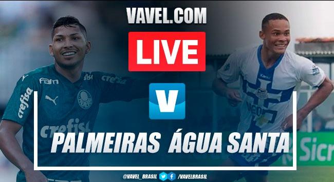 Gols e melhores momentos para Palmeiras 2x1 Água Santa pelo Campeonato Paulista 2020