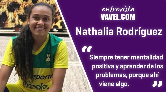 """Entrevista a Nathalia Rodríguez: """"El día que no me ría, no entrené bien"""""""