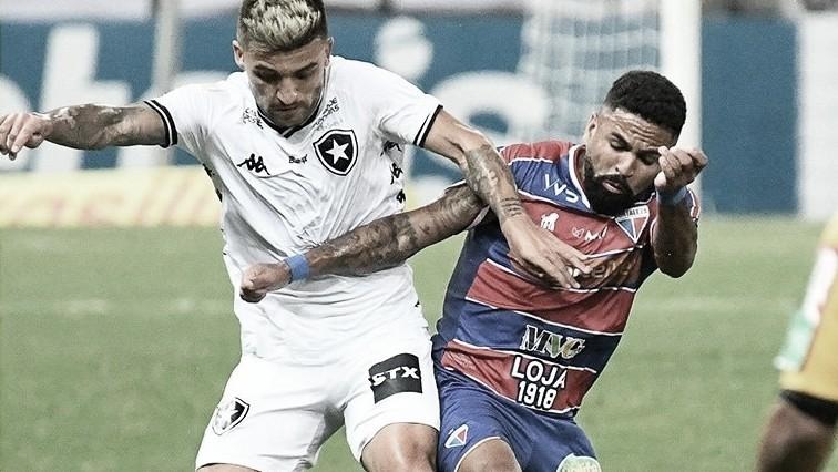 Fortaleza e Botafogo fazem jogo equilibrado, mas pecam em último passe e finalizações