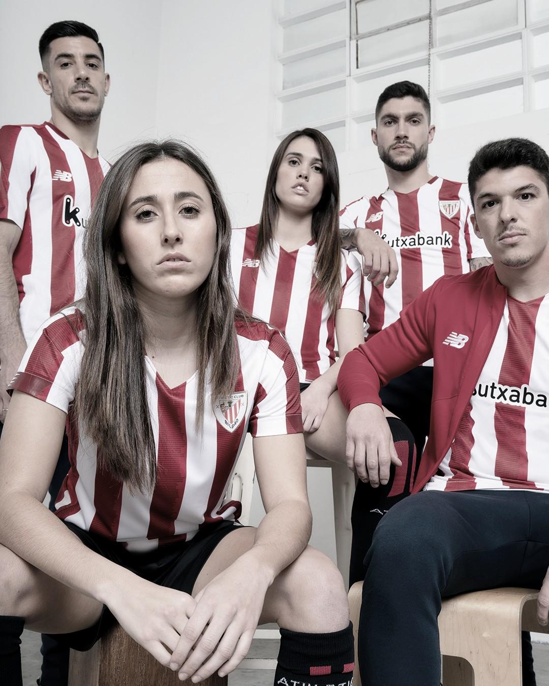 La nueva camiseta del Athletic Club homenajea a sus socios