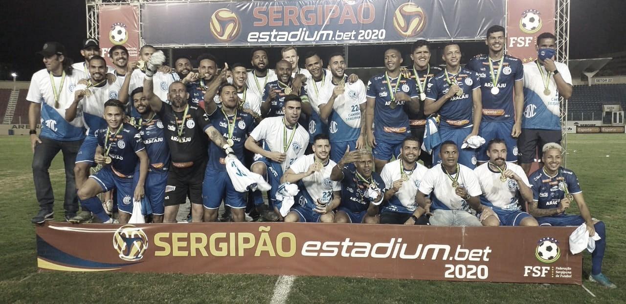 Confiança empata com Itabaiana e conquista título invicto do Sergipano; confira melhores momentos