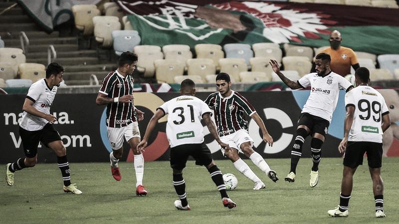 Márcio Coelho reconhece erros na eliminação do Figueirense para o Fluminense