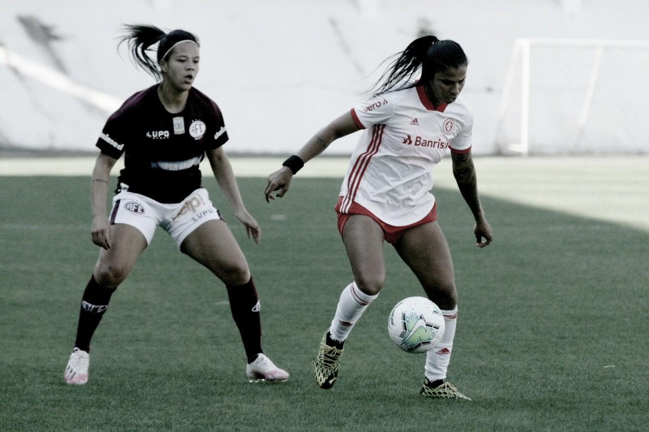 Com gols no final da partida, Inter vence Ferroviária fora de casa no Brasileirão Feminino