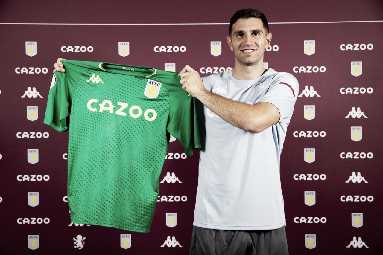 El Aston Villa ficha a Emiliano Martínez