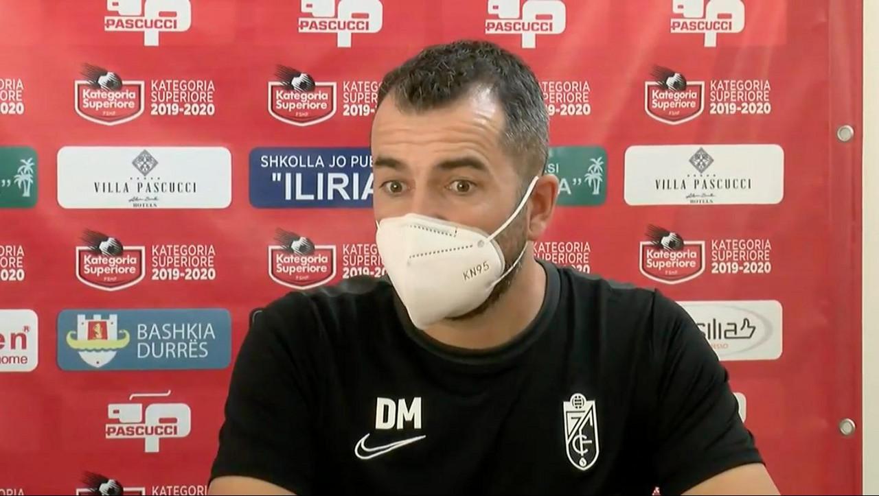 """Diego Martínez: """"Hemos esperado 90 años para que llegara este momento"""""""