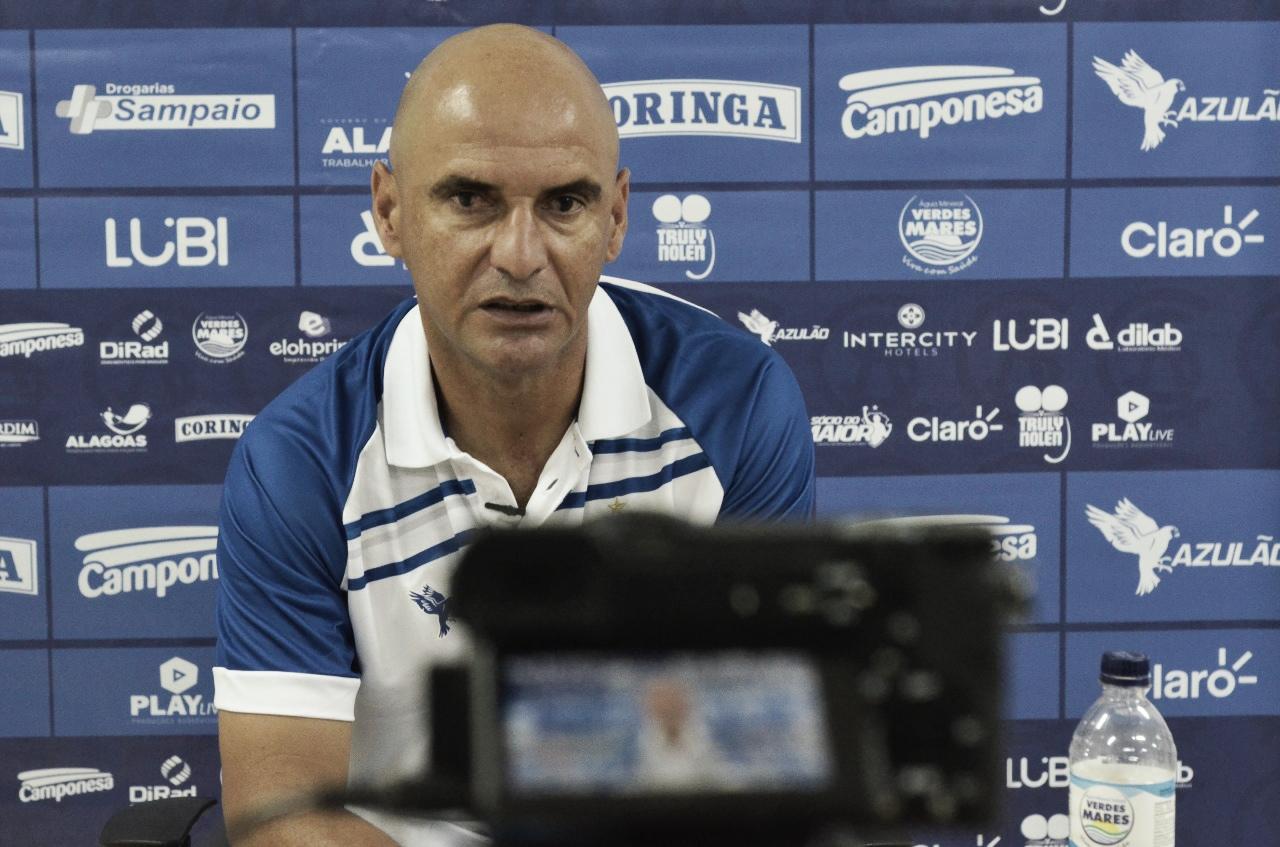 Adriano Rodrigues aponta 'agressividade na marcação' como essencial para bater o Cruzeiro