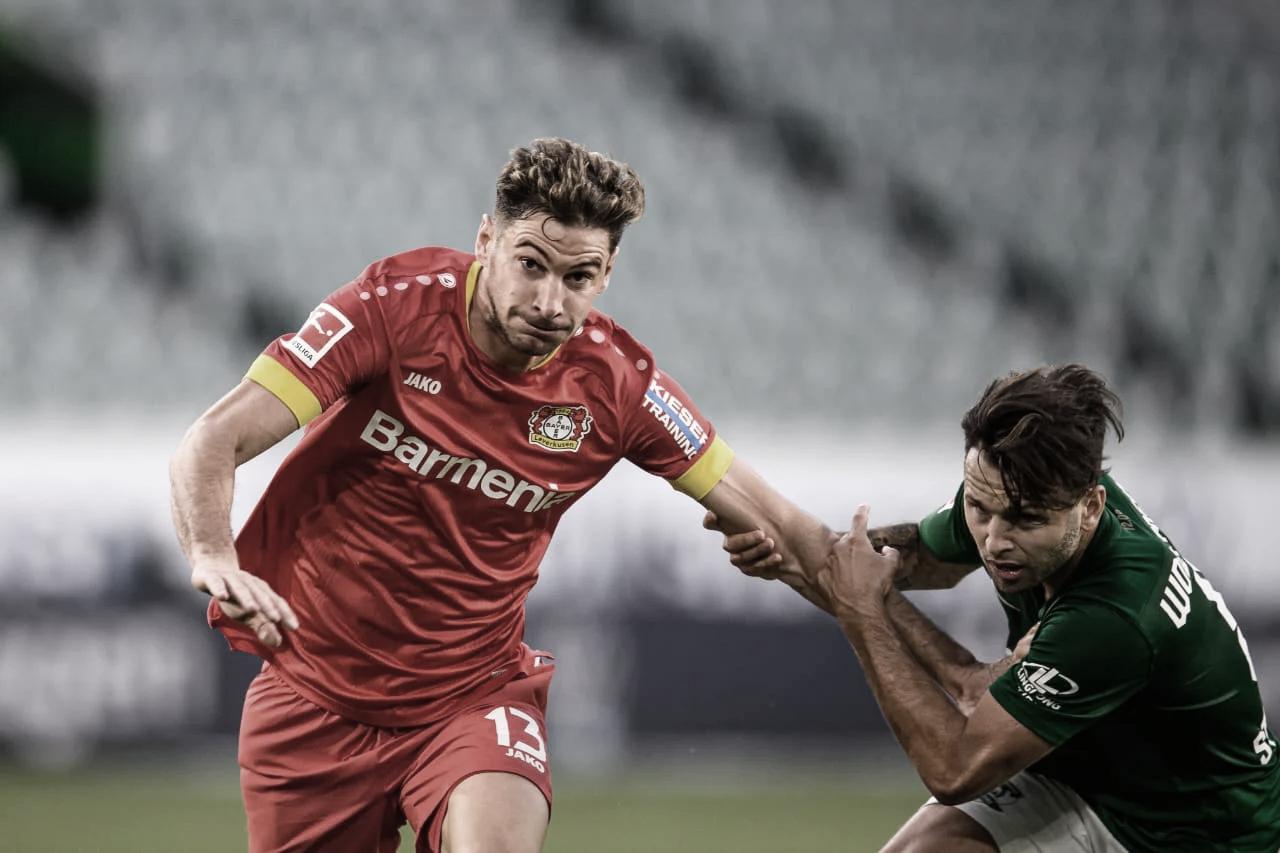 Lucas Alario entro en los 100 del Bayern Leverkusen