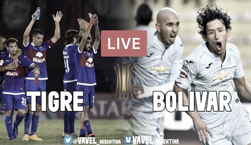 Resultado final Tigre vs Bolívar por Copa Libertadores (1-1)