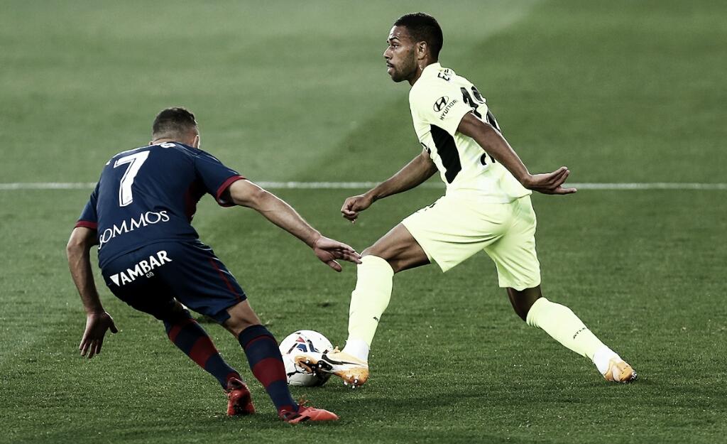 Atlético de Madrid e Huesca empatam sem gols em jogo de pouca inspiração