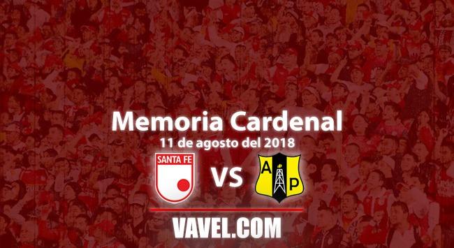 Memoria 'cardenal': Santa Fe 4 Alianza Petrolera 0y los goles brotaron como petróleo