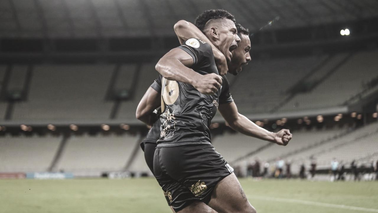 Ceará 2 a 1 no Corinthians pelo Campeonato Brasileiro 2020 (Foto: Divulgação / Ceará SC)