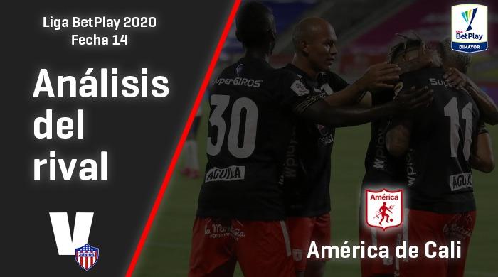 Junior de Barranquilla, análisis del rival: América de Cali (Fecha 14, Liga 2020)