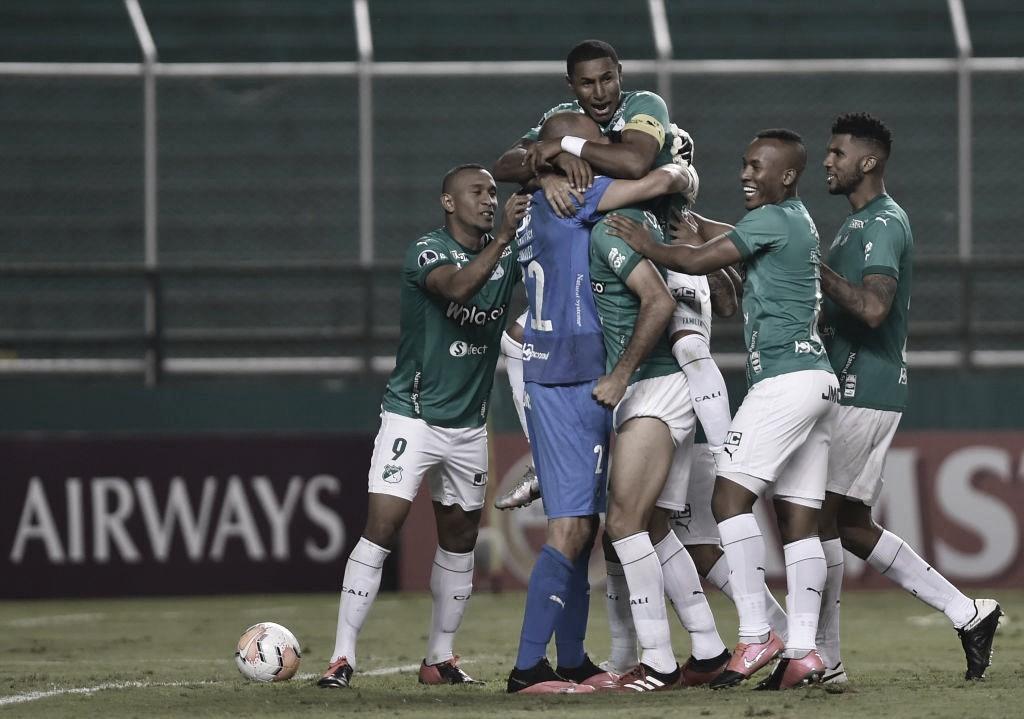 En fútbol Millonarios ganó, pero Deportivo Cali clasificó a Octavos en la Copa Sudamericana