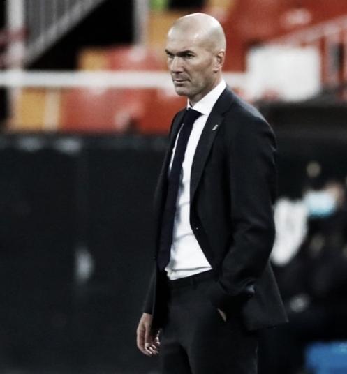 Zidane, segundo entrenador con más partidos de Liga en el Real Madrid